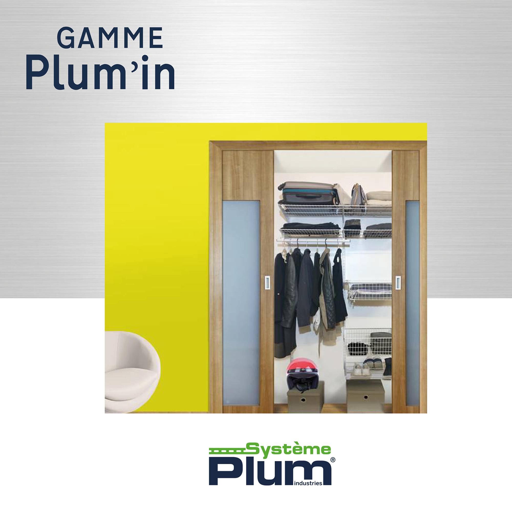 systeme plum industries le fabricant qui optimise vos rangement. Black Bedroom Furniture Sets. Home Design Ideas